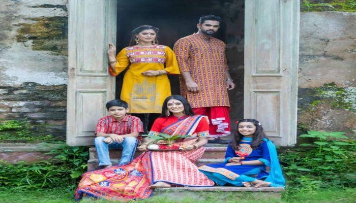 শারদ উৎসবে রঙ বাংলাদেশ।